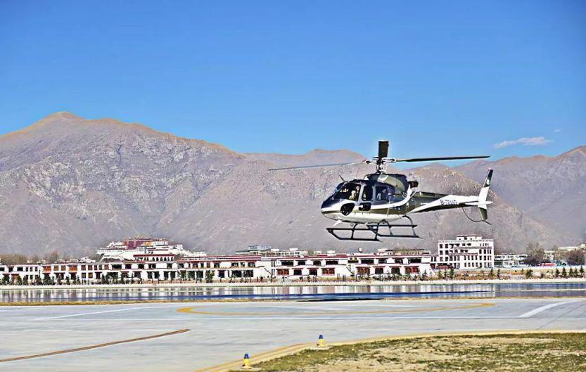 直升机俯瞰拉萨7